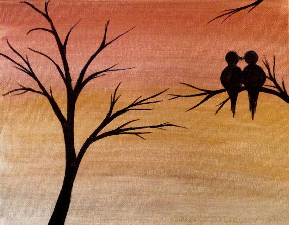 Deze aanbieding is mijn originele Acryl schilderij van Rustieke zonsondergang - Love Birds gedaan op een gespannen doek (8 bij 10 inch) klaar om op te hangen aan de muur. Het gaat als een prachtige muur decor.  Vriendelijk contact met mij op indien u vragen over deze aanbieding hebt.   Ik accepteer ook aangepaste bestellingen als u zou willen hebben hetzelfde thema met verschillende set van kleuren/maten/soort doek. Als u een aangepaste bestelling plaatsen gelieve Klik op de link Aa...