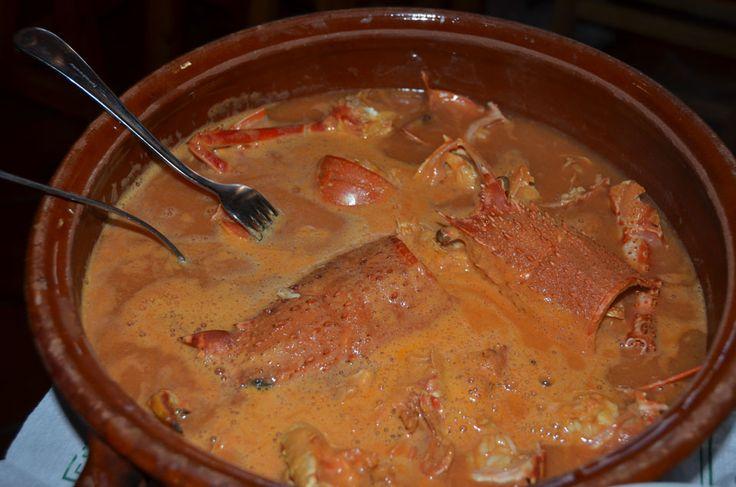 Lobster Stew, Es Cranc Restaurant, Fornells, Menorca