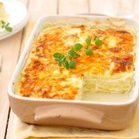 Skip the sauce, use more cheese - WHITE lasagna