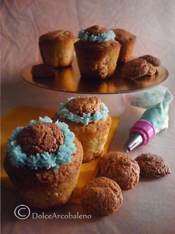 Muffin con amaretti by Dolcearcobaleno