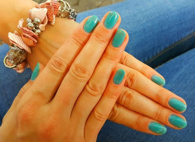 Лак цвета морской волны LCN Nail Polish # 203 Azure Blue — Отзывы о косметике — Косметиста