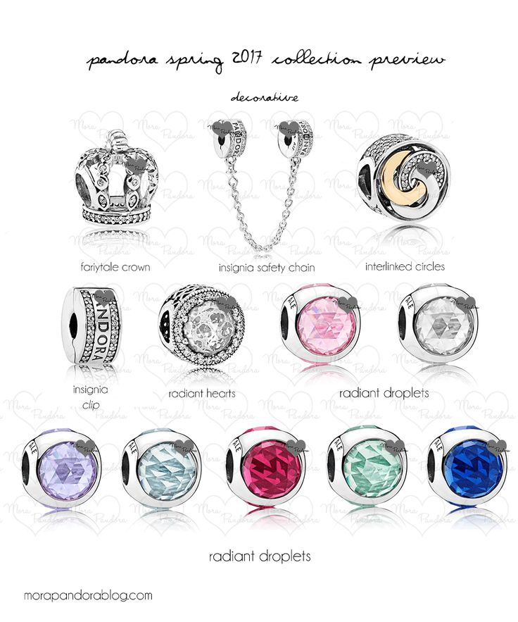 Pandora Spring 2017 Decorative