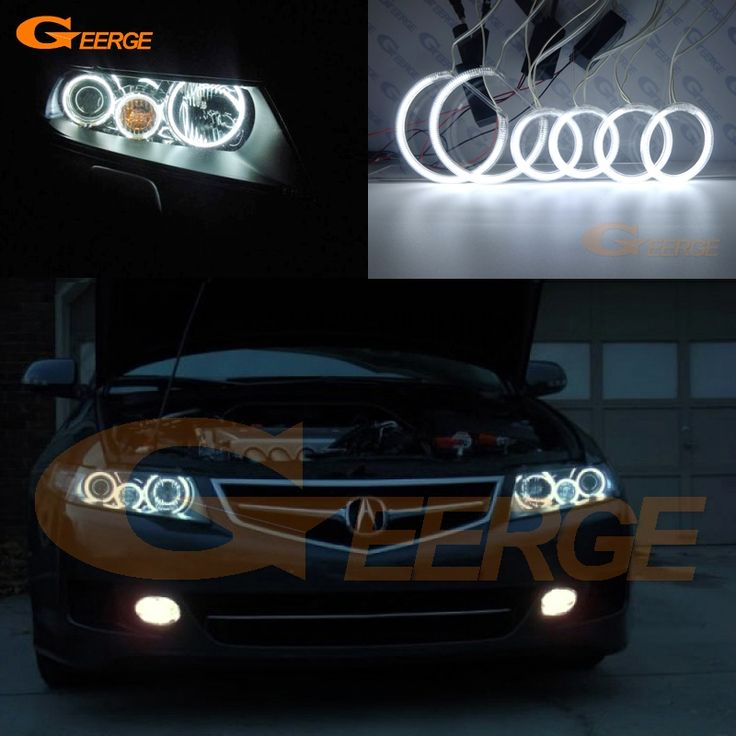 For Acura TSX 2004 2005 2006 2007 2008 Excellent Angel Eyes Ultra bright headlight illumination CCFL angel eyes kit Halo Ring