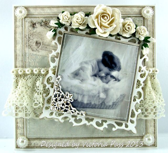 Sticky With Icky: The second christening card........