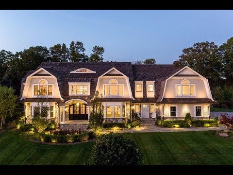 Distinctive Hamptons-Style Home in Franklin Lakes, New Jersey - Sotheby's International Realty - YouTube