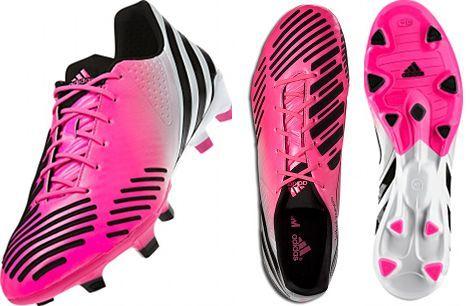 David Beckham's new 'Olympic Pink' adidas Predator Lethal Zones football boots