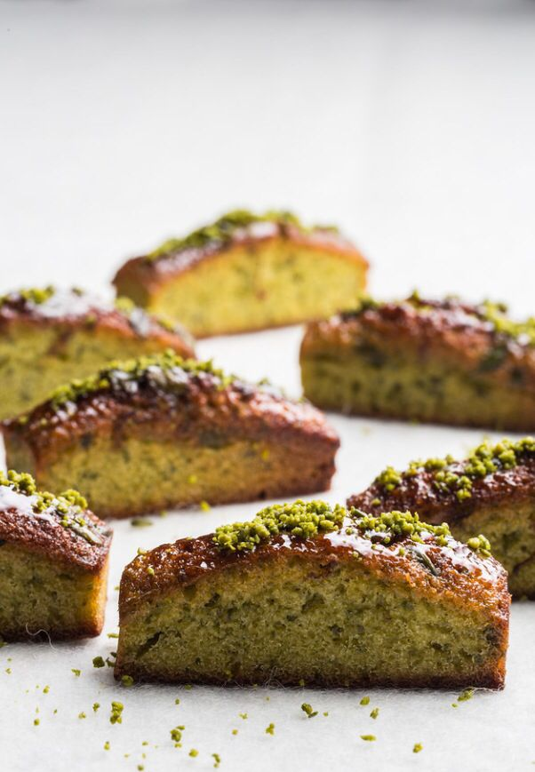 ... & Financiers on Pinterest | Financier, Pistachios and Tea cakes