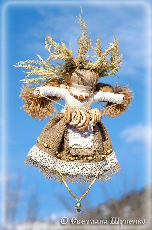 Кукла «БогАтушка» - для богатства, прибыли, достатка, обеспеченности, благополучной жизни, безбедного существования