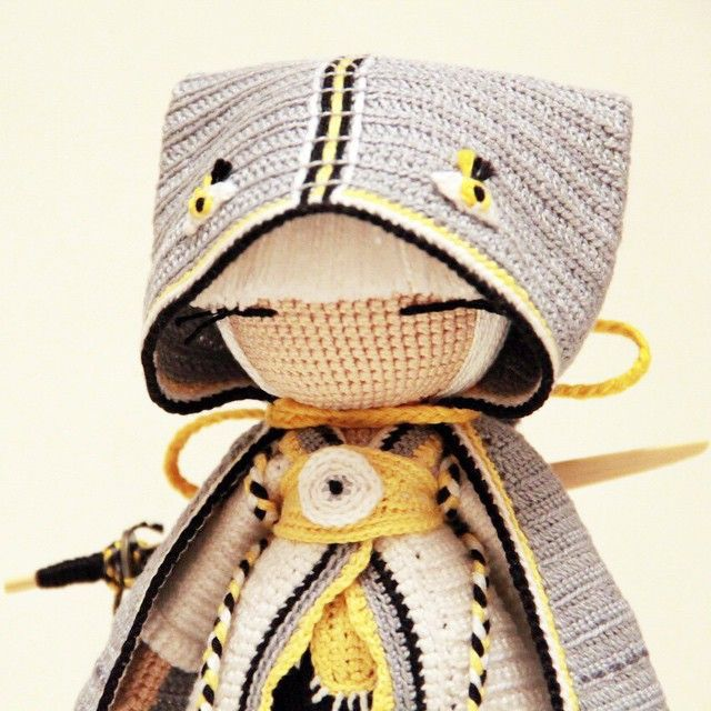 Amigurumi doll. (Inspiration). Instagram photo by @kukukolki via ink361.com ☆
