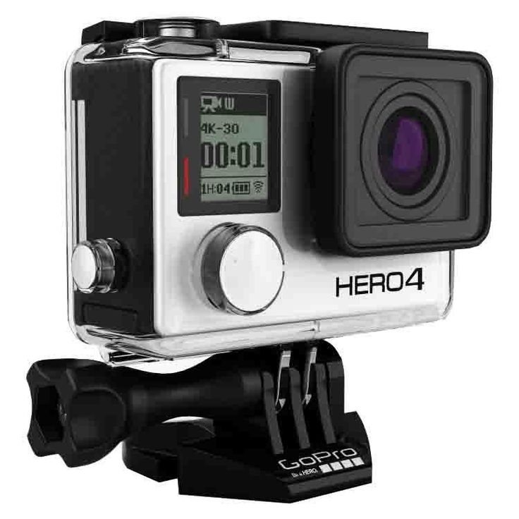 USA Ship GoPro Hero 4 Black Edition Action Camera Waterproof 4K 12MP P – 8 Day Weekend