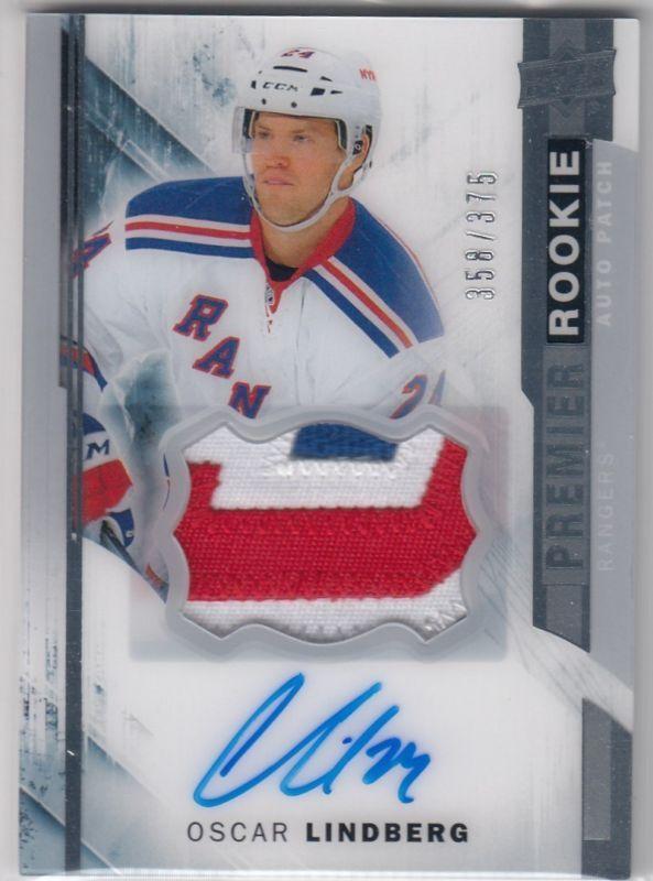 16-17 Upper Deck Artifacts Hockey Checklist | New York Rangers Hockey Cards