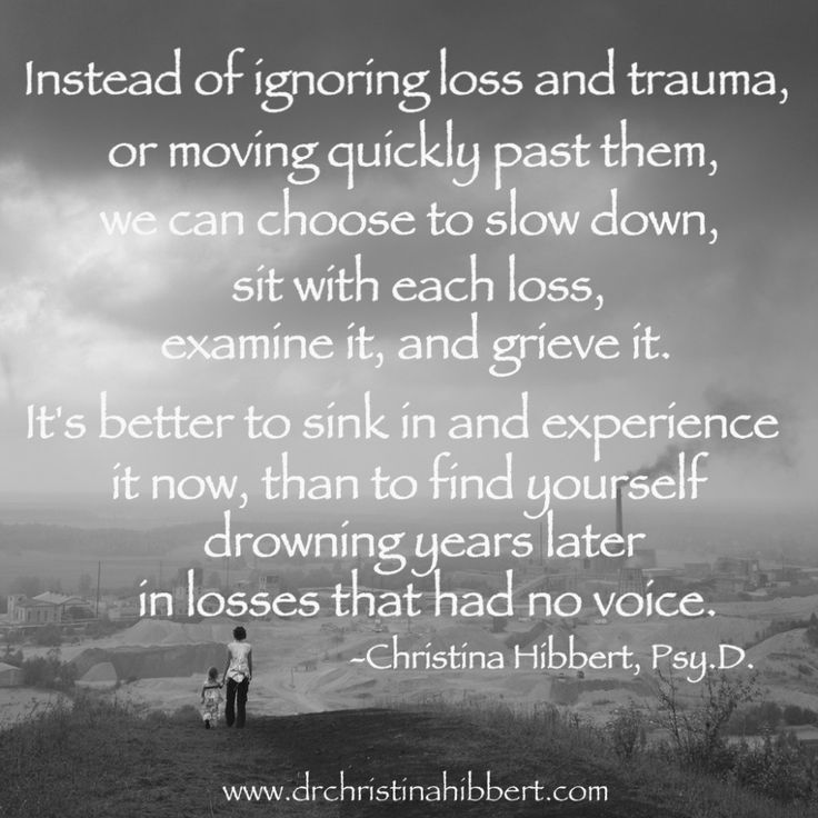 coping with loss | Understanding & Coping with Loss and Trauma, www.drchristinahibbert ...