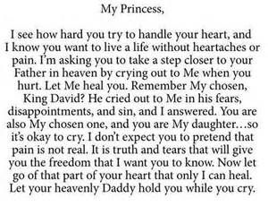love letter from god to his daughters