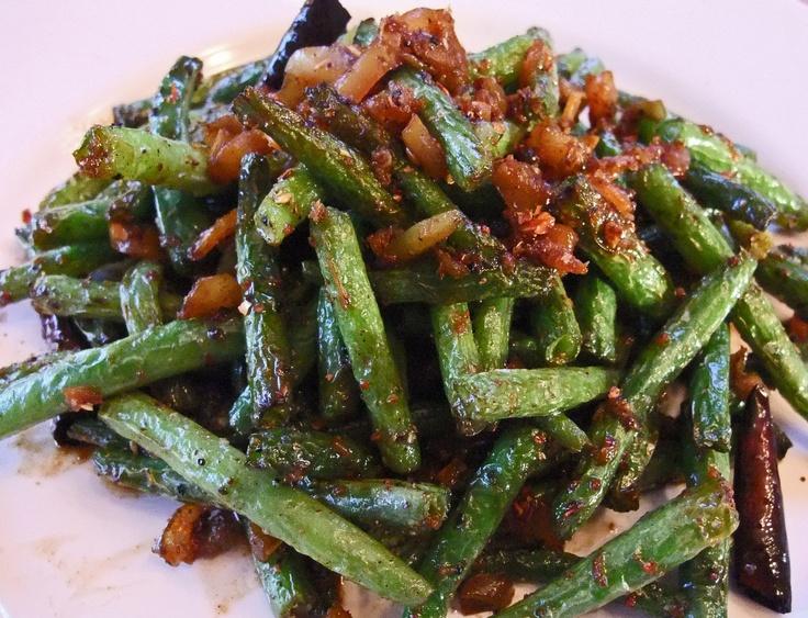 Dry Fried Green Beans - Gan Bian Si Ji Dou