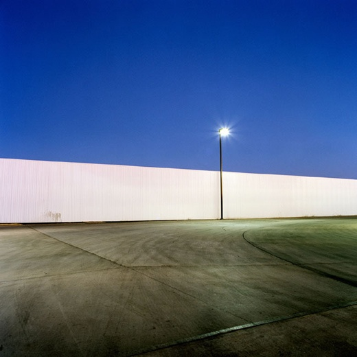 Mark Kimber, Truck stop, 2008  from Edgeland  Giclee print