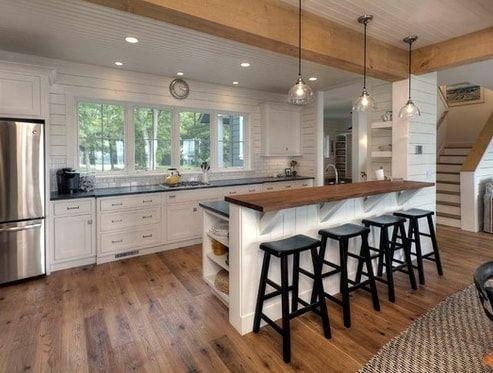 101 Beautiful Beach Cottage Kitchens Cottage Kitchen Decor