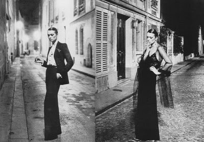 photo by Helmut Newton. Classic YSL.
