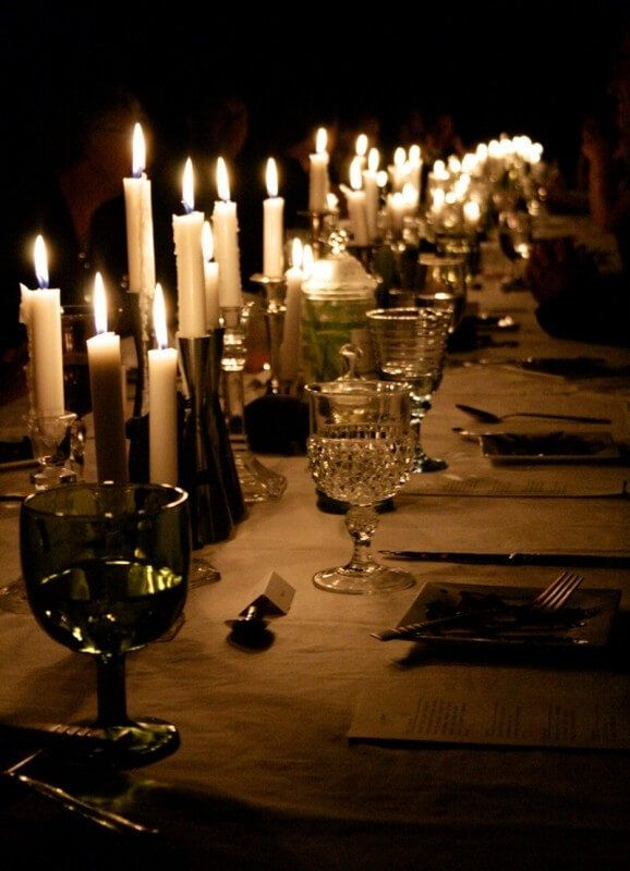 Awesome Halloween Dinner Party Ideas Part - 7: Halloween Dinner Table Decoration Ideas 2016 | World Of Makeup And Fashion