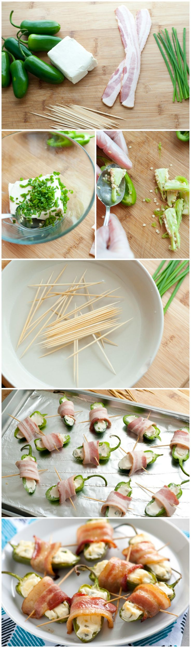 Bacon-Wrapped Jalapeño Poppers {you can make on the grill!}