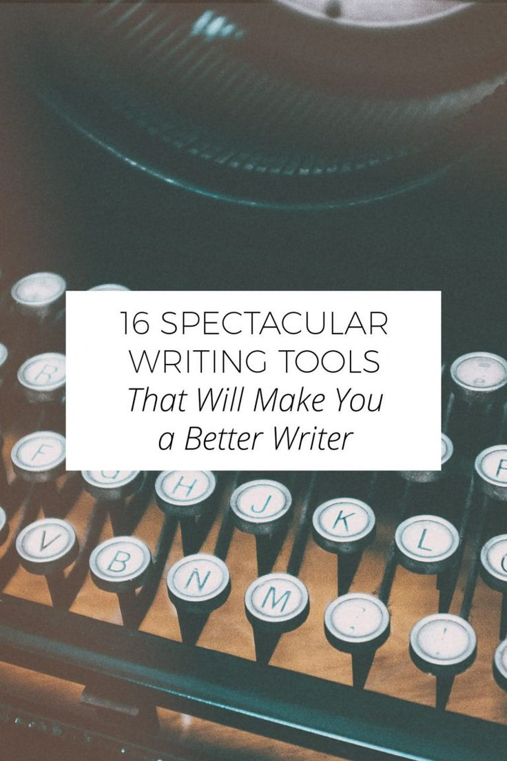 A collection of best writing tools for bloggers, writers and authors. Tighten up…