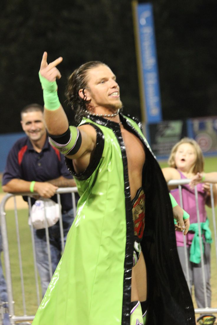 Brian Anthony greets fans during Wrestling Under the Stars II, at Dutchess Stadium, located in Wappingers Falls, NY.