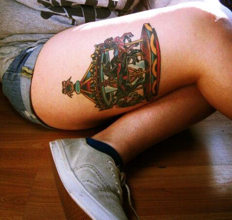 carousel tattoo | Tumblr #tattoo... I am getting a carousel next!