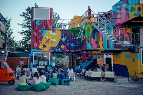 Village Underground Lisboa, Lisbon, 2014 - Arte Tectonica
