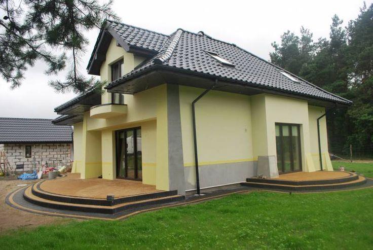 front domu wykończony piaskowcem - Google zoeken