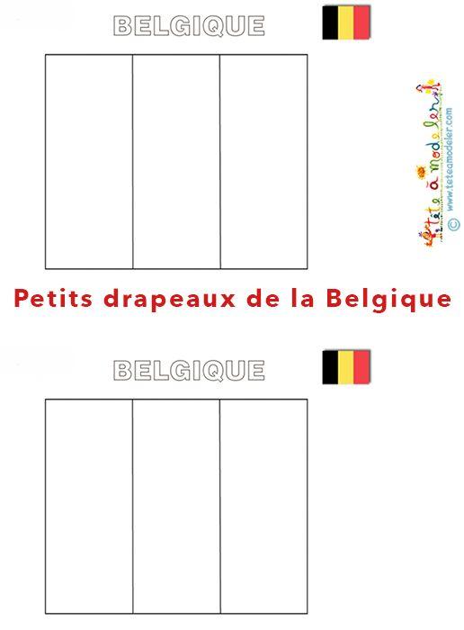 Petit drapeau belge