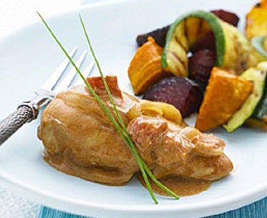 Creamy Smoked Paprika Chicken