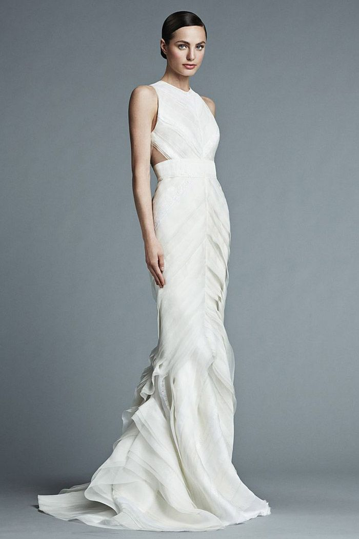 J mendel bridal 2015 collection for J mendel wedding dress