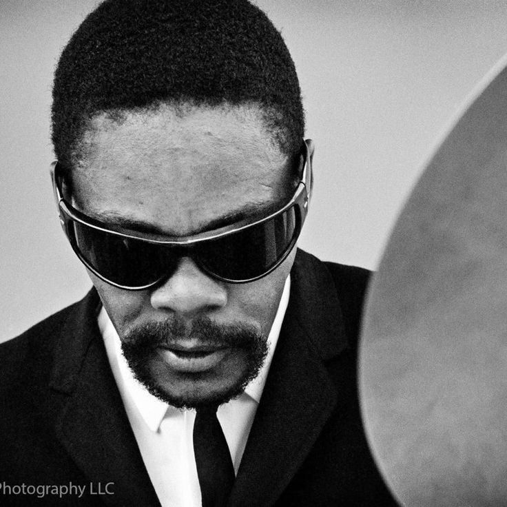 Omar Clay photographed at Newport Jazz Festival in Newport, RI July 4, 1963