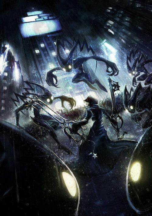 Kingdom Hearts 2 | Roxas #kingdomhearts #kh #roxas #organizationxiii #keyblade #heartless