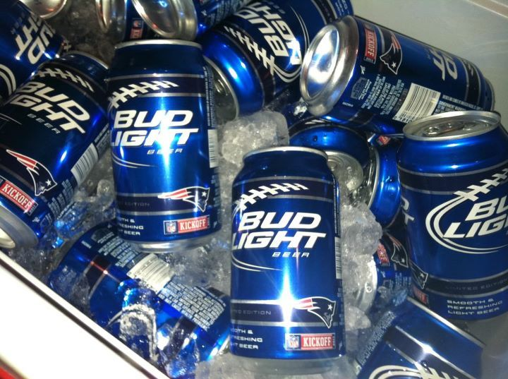 Pats Bud Light Cans #Patriots | Patriot-ic Love ...