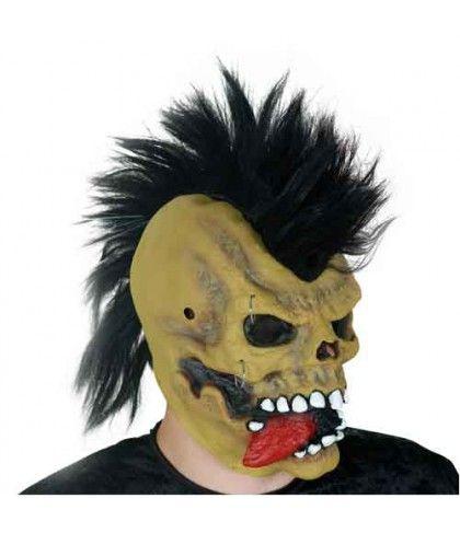 Μάσκα Punk Λάτεξ Με Φως οπτικής ίνας
