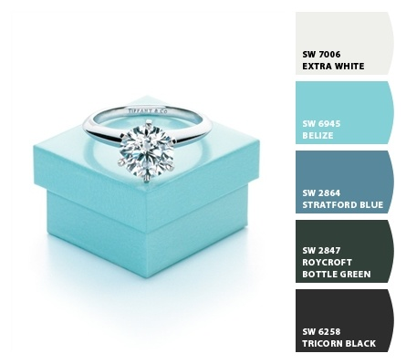 Blue Palette Tiffany Blue And Blue On Pinterest