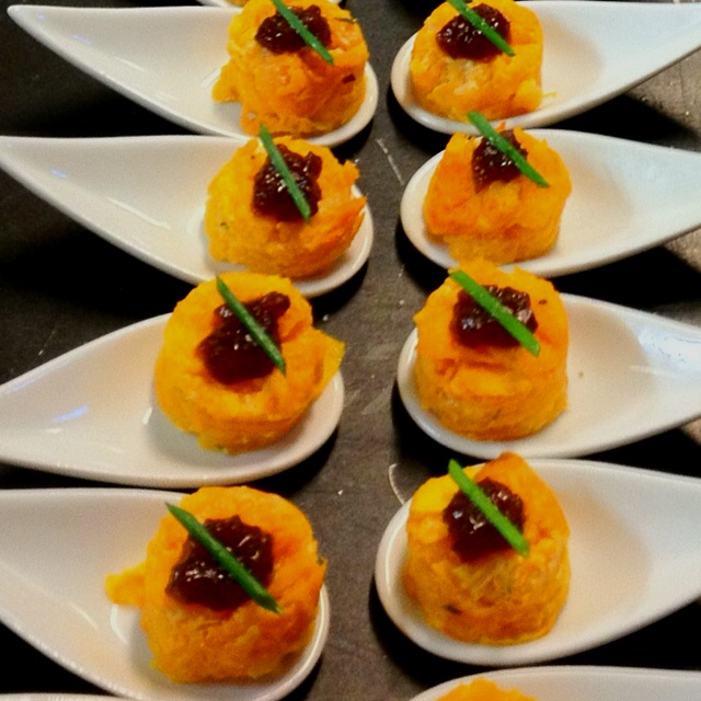 327 best images about canap ideas on pinterest paper for Sweet canape ideas