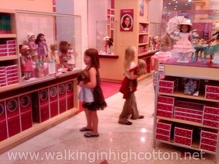tips for making the most out of your american girl store visit. going to need this in a few days!