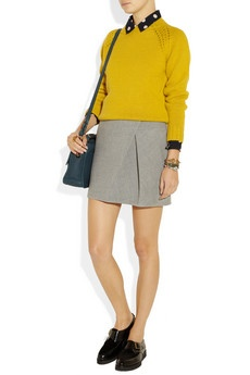 A.P.C. yellow sweater