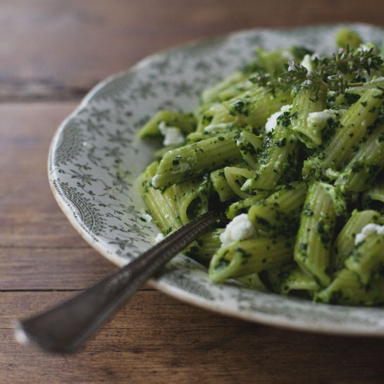 wonderful!Kale Pesto, Pasta Recipes, Green, Food, Pesto Pasta, Winter ...
