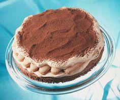 Das klassische Dessert als cremige Torte für die Kaffeetafel
