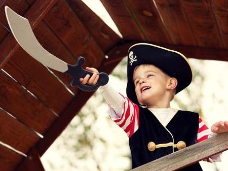 Pirate Birthday Party  Ahoy maties! Adventurous boys and girls will love this pirate-themed party.