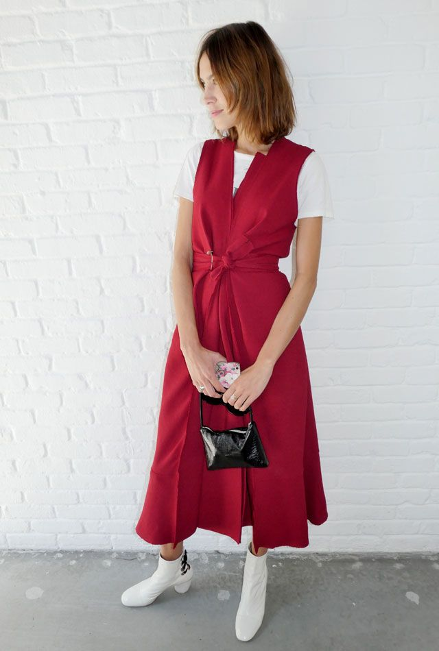 Мирослава Дума и Алекса Чанг на Неделе моды в Нью-Йорке