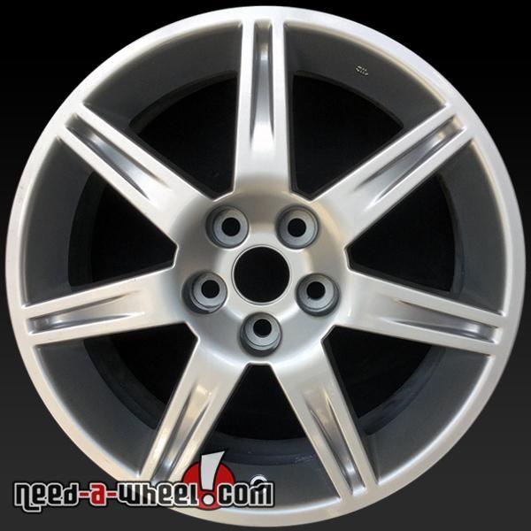 "2006-2011 Mitsubishi Eclipse oem wheels for sale. 18"" Silver stock rims 65810 https://www.need-a-wheel.com/rim-shop/18-mitsubishi-eclipse-oem-wheels-rims-silver-65810/, , #oemwheels, #factorywheels"