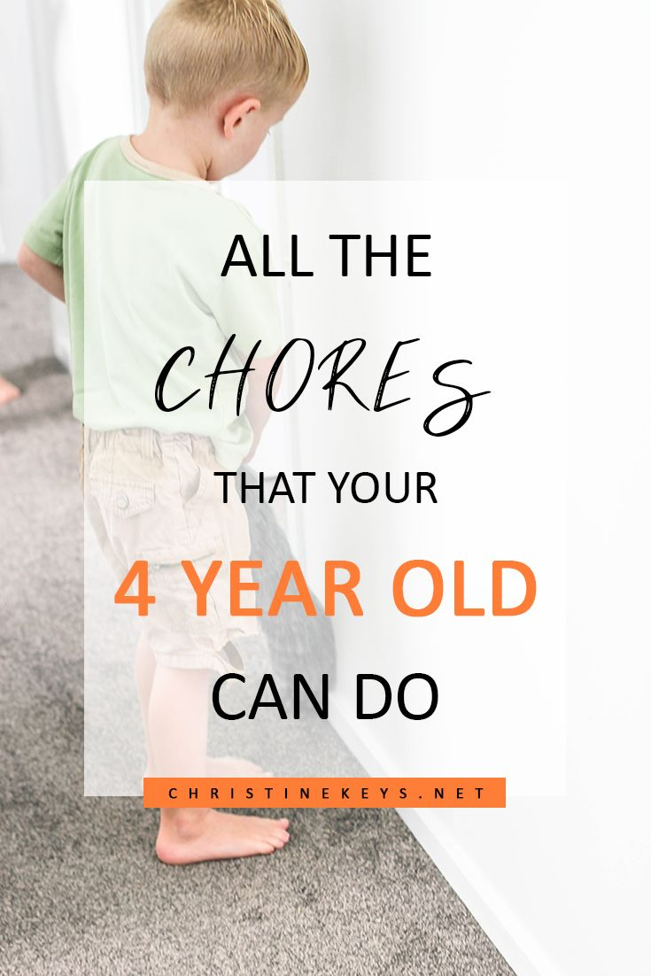 All The Chores That Your 4 Year Old Can Do 4 Year Old