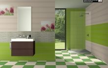 Colección Divine de revestimientos 25x50 cm de Cifre Cerámica // Divine collection of wall tiles of 25x50cm by Cifre Cerámica