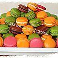 Ganaches pour macarons - Les folies de Christalie : ou quand la cuisine devient passion