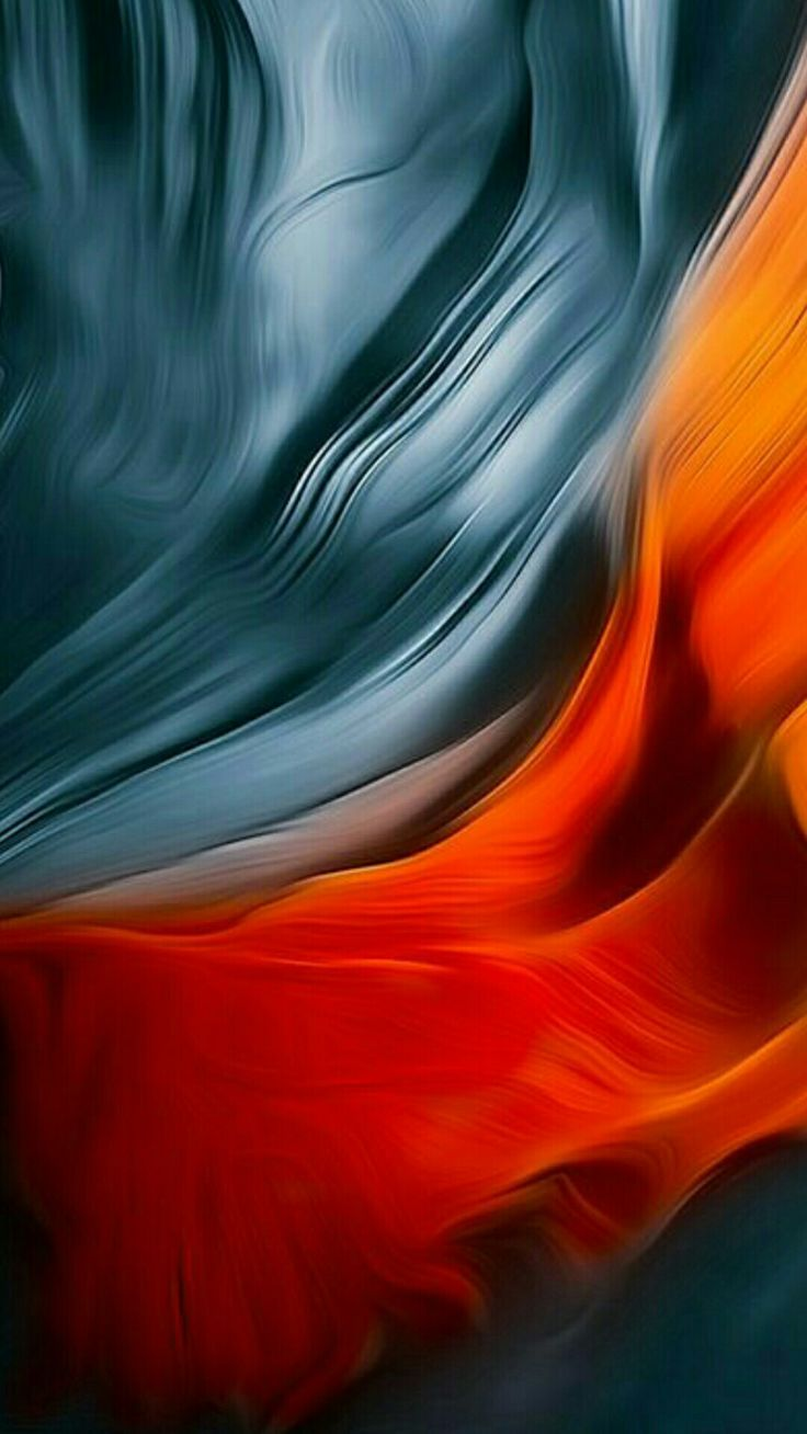 Color Silks Abstract Wallpaper