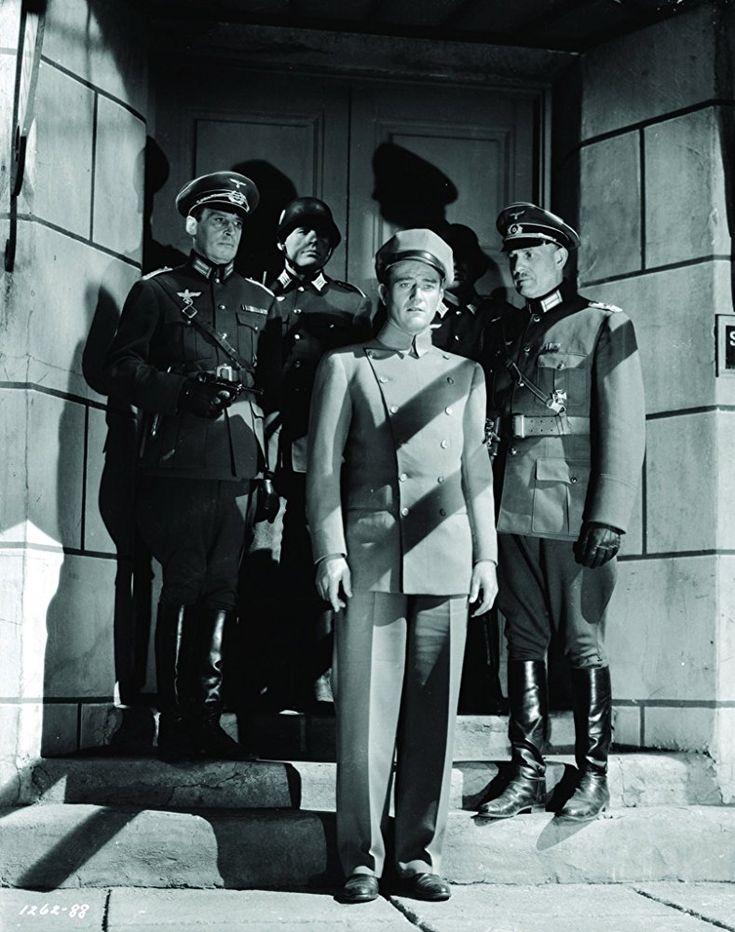 John Wayne in Reunion in France (1942)