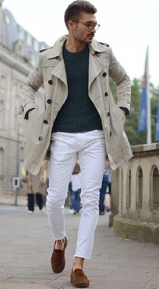 4beb21d70f9 How to Wear White Jeans - Men s Style Guide  summermensfashion ...